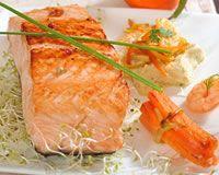 Gourmande et fi re de l 39 etre for Saumon en papillote au barbecue